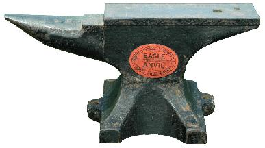 Late Fisher-Norris anvil photo by Jock Dempsey